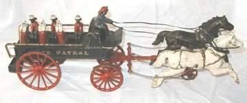 165: Ives Police Patrol Wagon 1890's