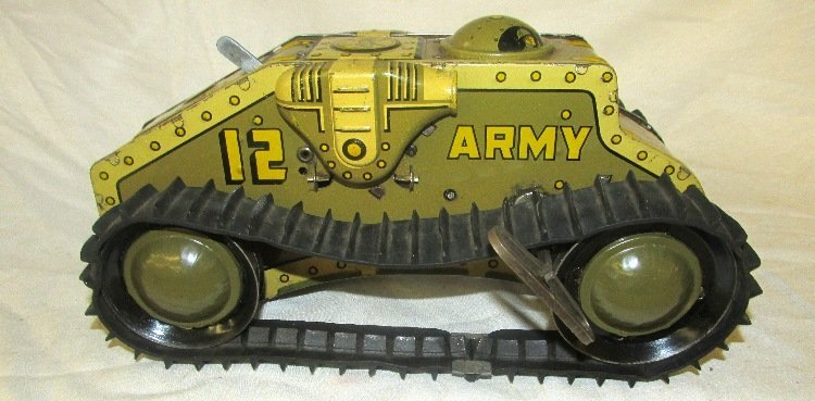 Marx Wind up Army Tank