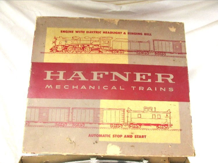 Hafner Passenger Train Set w/ Box