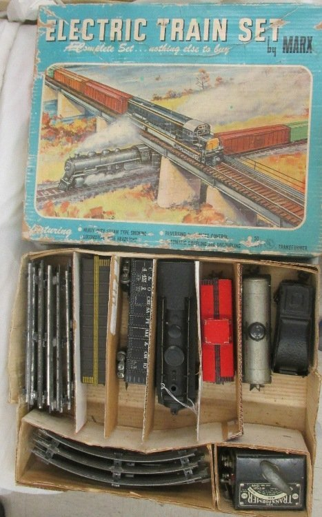 Marx Freight Train Set #52875 w/ Box