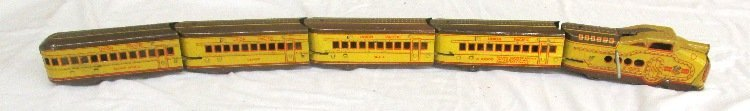 Marx N1000 Union Pacific Streamline Train Set