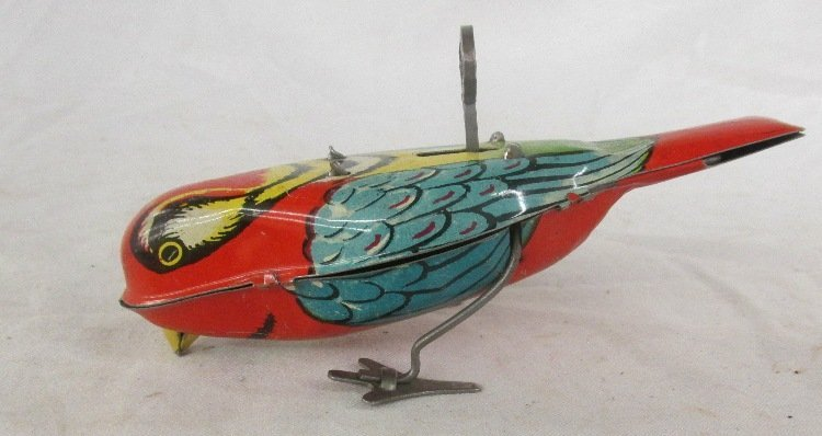 Lindstrom Tin wind up Bird