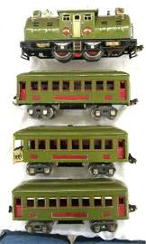 Lionel Pre War O Gage #254E Passenger Set