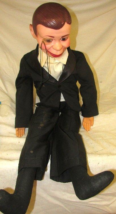 Jerry Mahoney Ventriloquist Dummy puppet doll, VGC