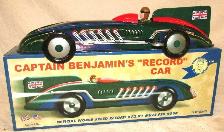 Captain Benjamin's - Record Car - Schylling Collector S