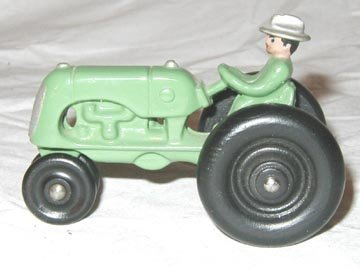 "373: Hubley Tractor 3 3/4"" late 1930's"
