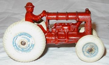 "394: Arcade Fordson Tractor 5 1/2"" Long"