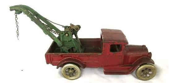 """Arcade Cast Iron Ford Express Wrecker #210, 10 1/2""""L,"""