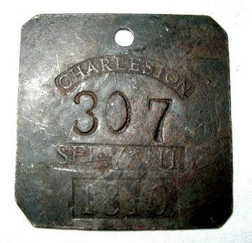 2001: 1810 Slave Tag
