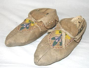 2003: Indian Beaded Moccassins