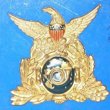 2009: 1836 Military Civil War Hat Plate