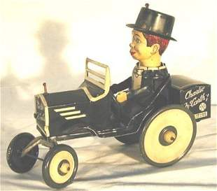 Marx Charlie McCarthy & His Benzine Buggy