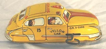 16: Marx Yellow Cab, Skyview, Windup