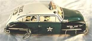 Marx Police Car #7, Windup