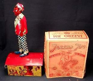 Marx Jazzbo Jim with Box