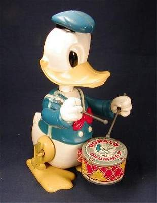 Marx Donald Duck Drummer