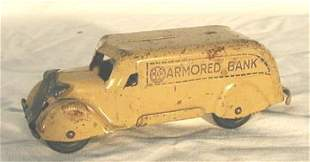 Marx Armored Bank with Key
