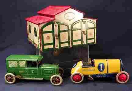 97: Lehmann Two Car Garage and Autos