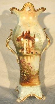 """1002: Elite Limoges 18"""" Vase"""
