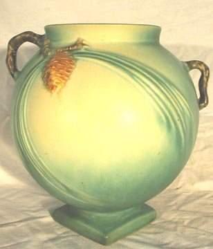 Roseville #745-7 Pinecone Vase