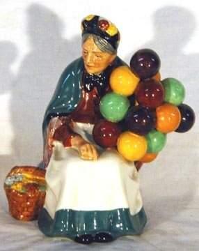 Royal Doulton The Old Balloon Seller Figurine