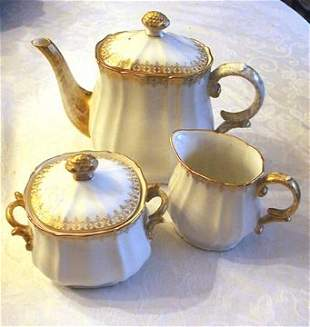 Limoges D & C Tea Set