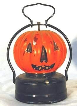 Battery Operated Jack O Lantern Lantern