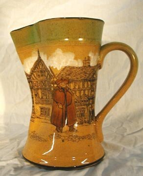 1021: Royal Doulton Dickens Ware Pitcher