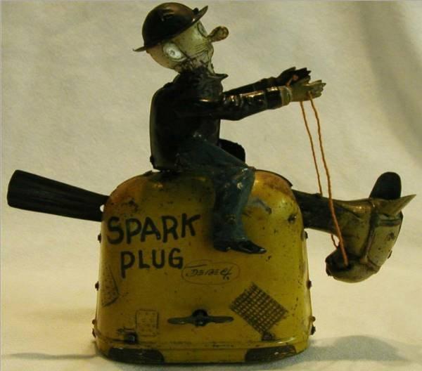 1019: Nifty Barney Google on Spark Plug