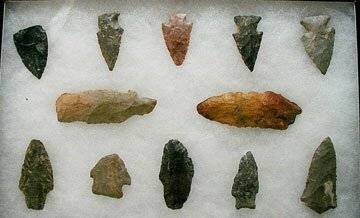 3004: Frame of Arrowheads