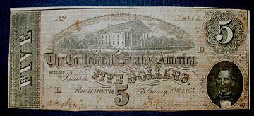3022: Civil War Currency