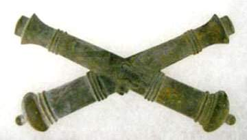 3028: Civil War Artillary Cap Insignia