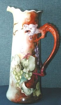 4141: Limoges JRL Dragon Handle Tankard HP