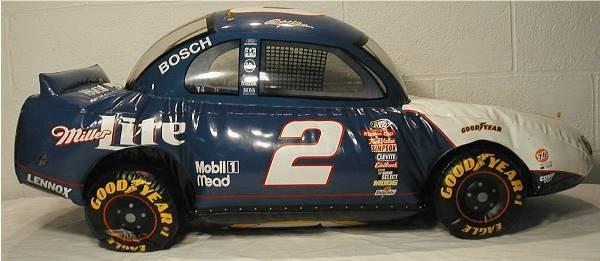 2003: Miller Lite Inflatable NASCAR Bar Sign Car #2