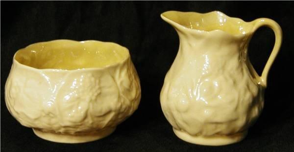 2005: Belleek Creamer & Sugar Bowl (Reg. No. 0857)