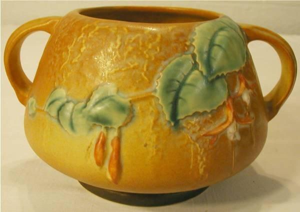 2011: Roseville Fuchsia #346-4 Two Handle Bowl