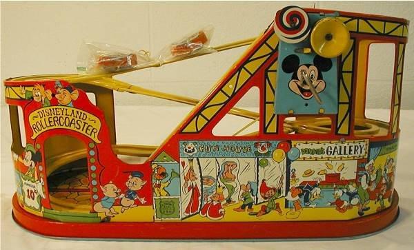 2014: Chein Disneyland Roller Coaster, Near Mint