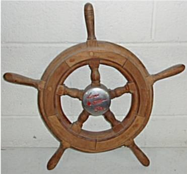 2019: Lone Star Boat Wooden Steering Wheel