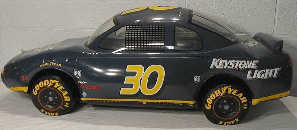 2154: Coors Keystone Light Inflatable NASCAR Bar Sign C