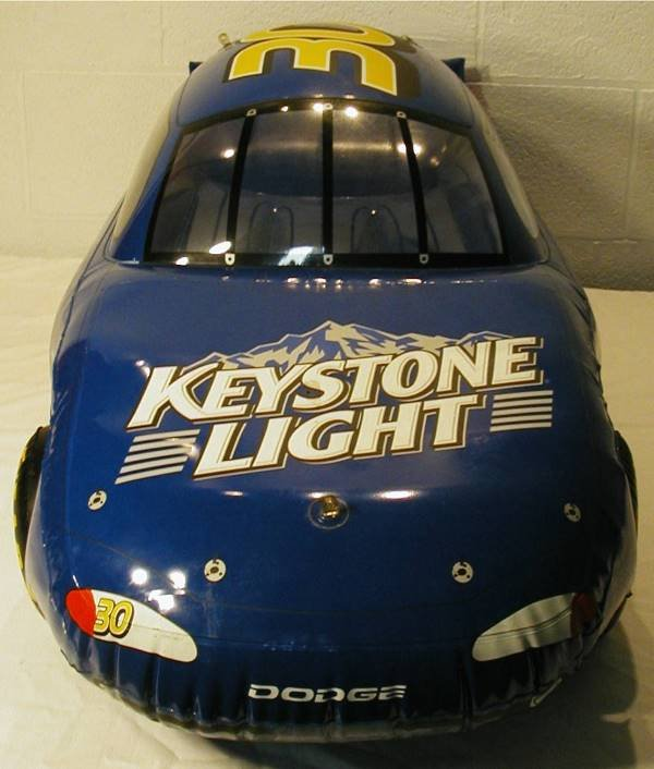 2154: Coors Keystone Light Inflatable NASCAR Bar Sign C - 4