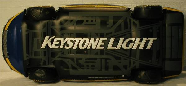 2154: Coors Keystone Light Inflatable NASCAR Bar Sign C - 5