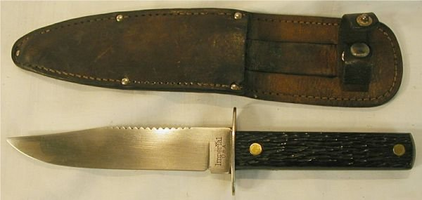 3020: Imperial Huniting Knife with Sheath