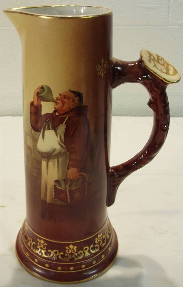 2020: Great Western Pottery Co., Tiffin, Ohio Pitcher