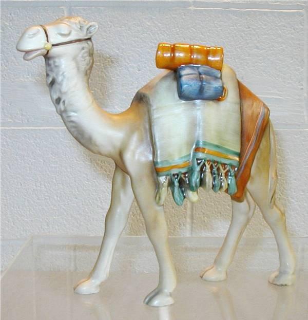 2100: Goebel Hummel Large Camel of Hummel Nativity Set