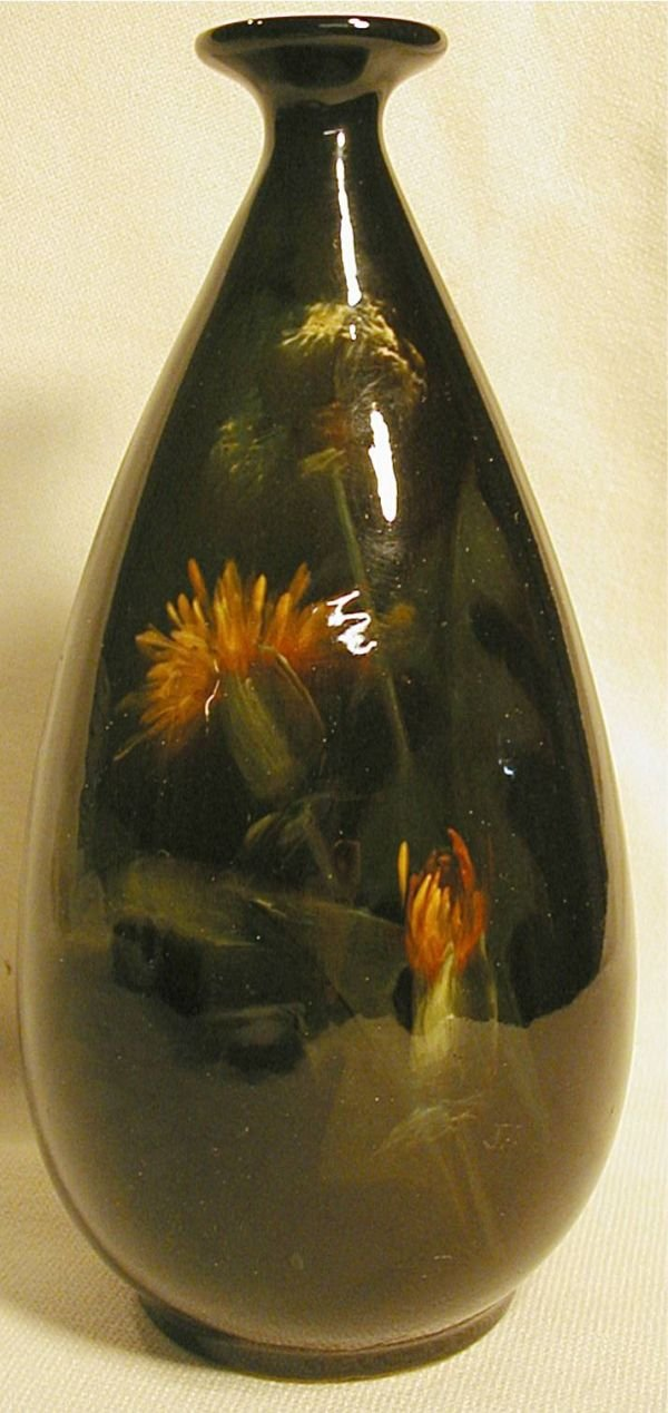 "2007: Weller Louwelsa 8 1/2"" H Vase, Excellent Conditi"