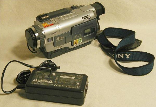 2290: Sony Digital Handy Cam Movie Camera, DCR-TRV330,