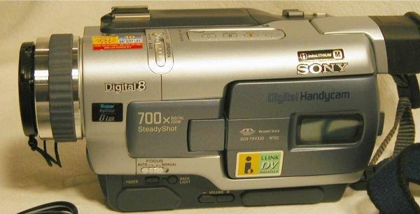 2290: Sony Digital Handy Cam Movie Camera, DCR-TRV330,  - 2