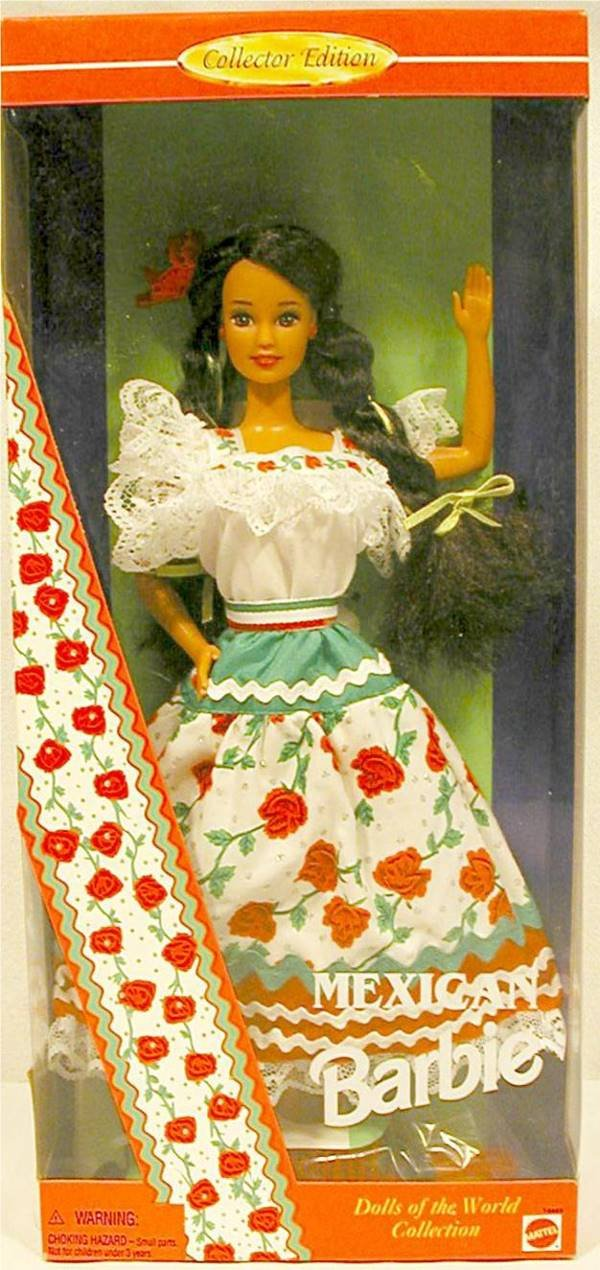 3003: Barbie 14449 Dolls of the World Mexican MIB