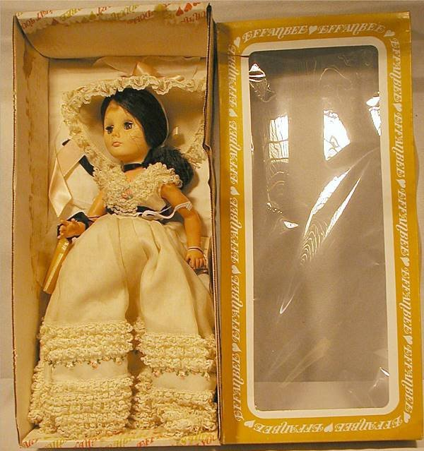 3004: Effanbee Civil War Lady with Box, 15""