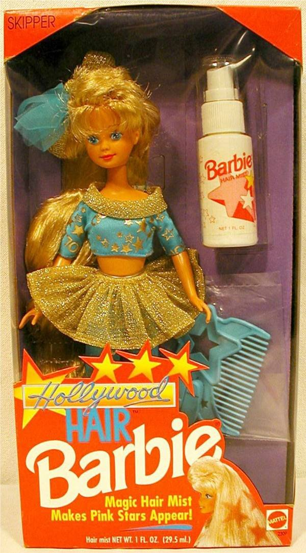3015: NRFB Hollywood Hair Skipper (Barbie) Fashion Doll
